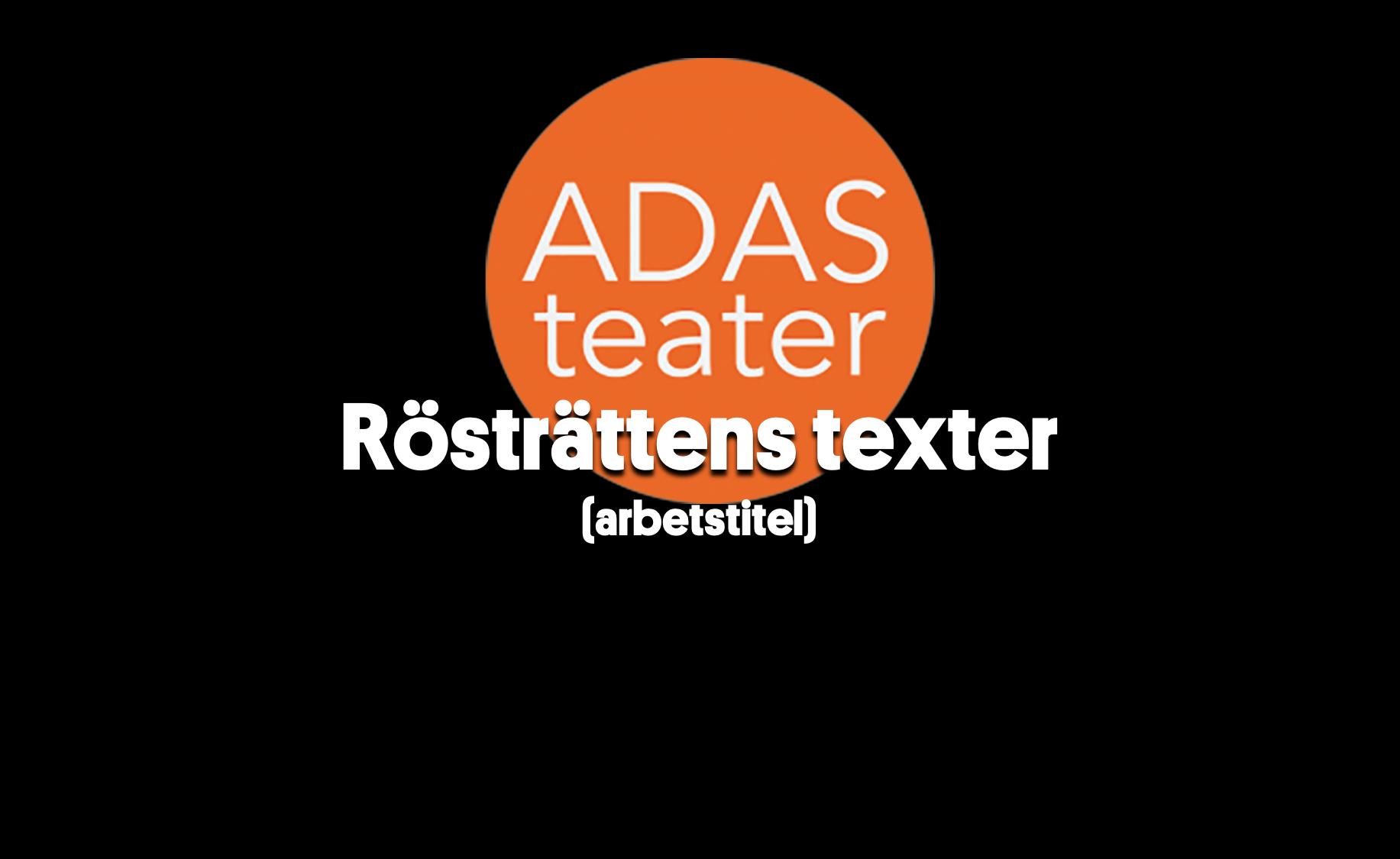 Länk till utdrag på Vimeo med Adas teater