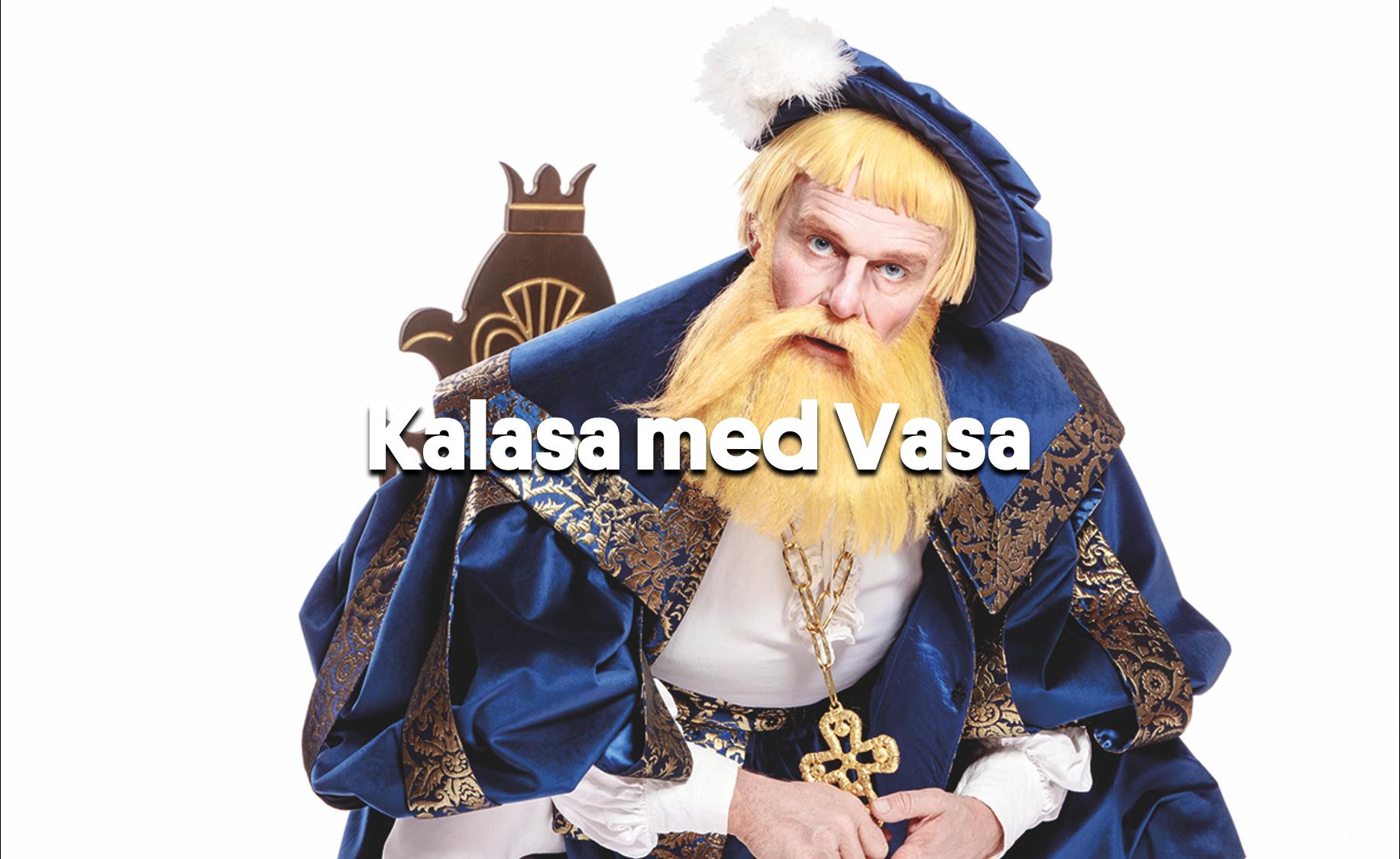 Länk till utdrag på Vimeo av Kalasa med Vasa